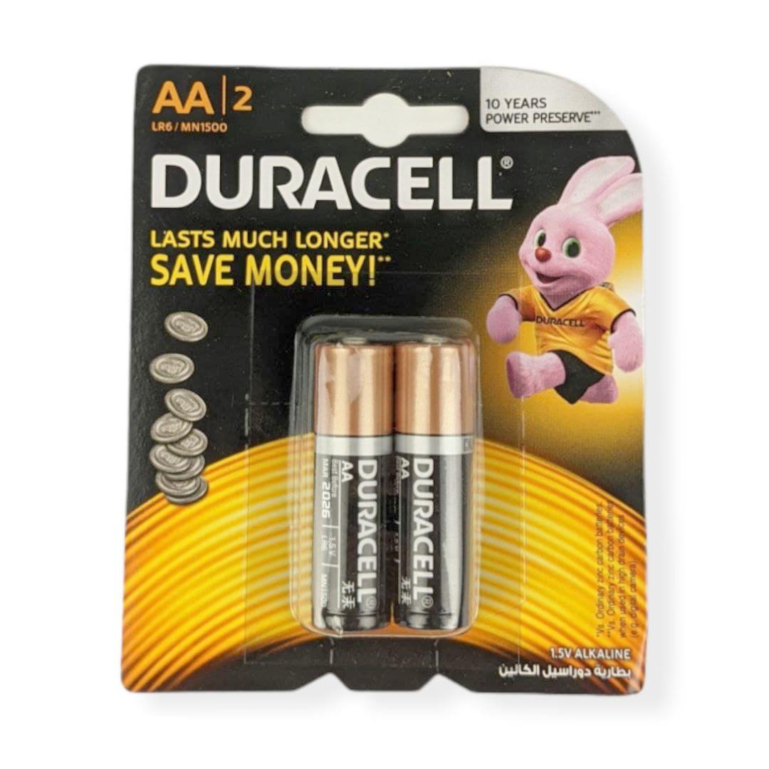 Батарейки DURACELL AA LR06 2шт