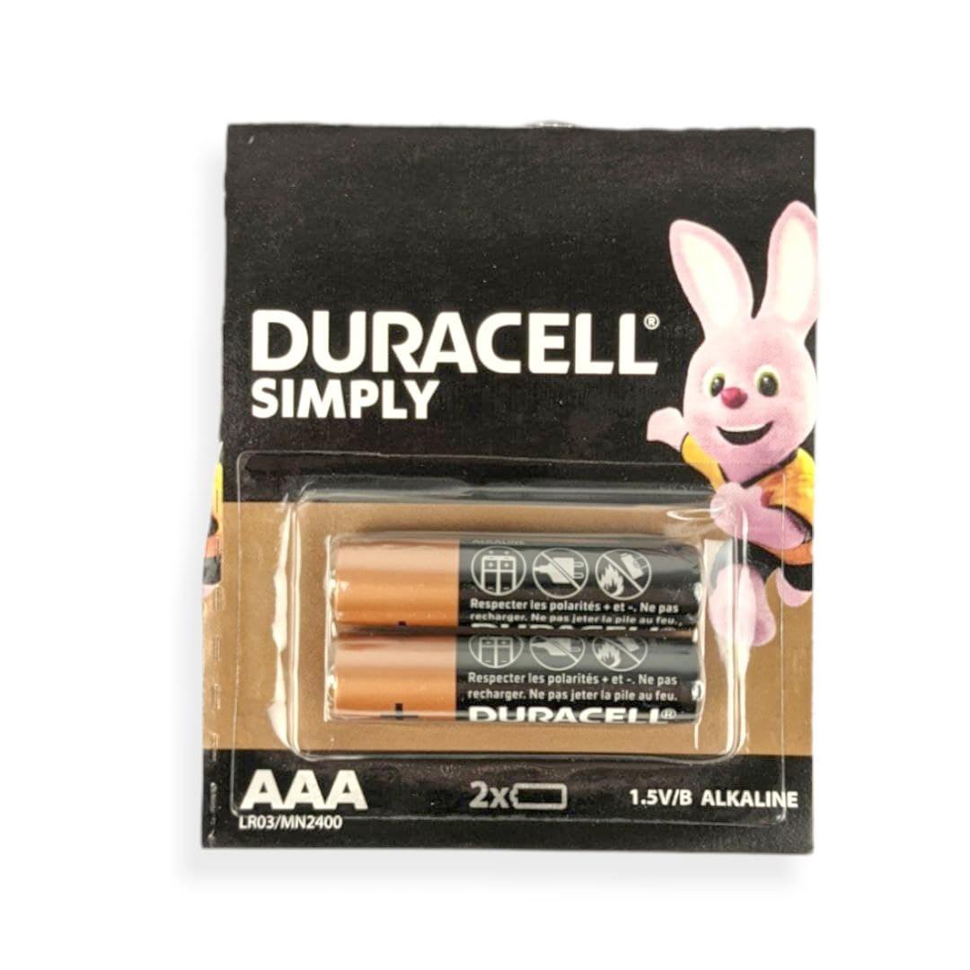 Батарейки DURACELL AA LR03 2шт відривна