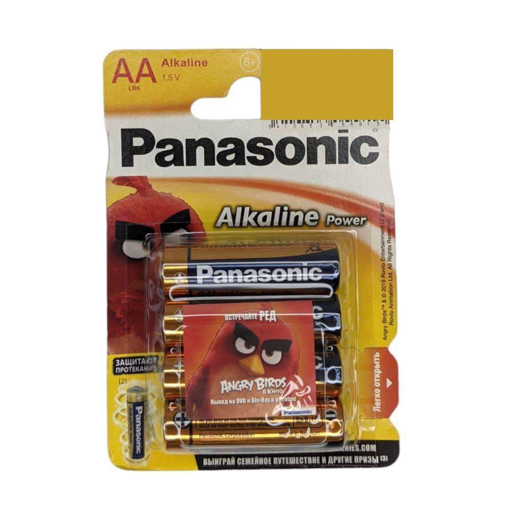 Батарейка АА PANASONIC LR06 Alkaline Power/ 4шт