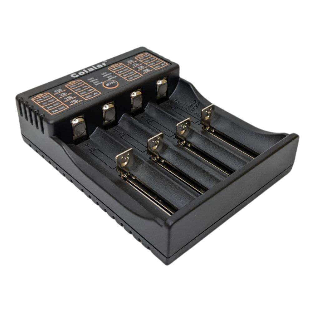 Зарядний пристрій C40 (4АКБ) USB