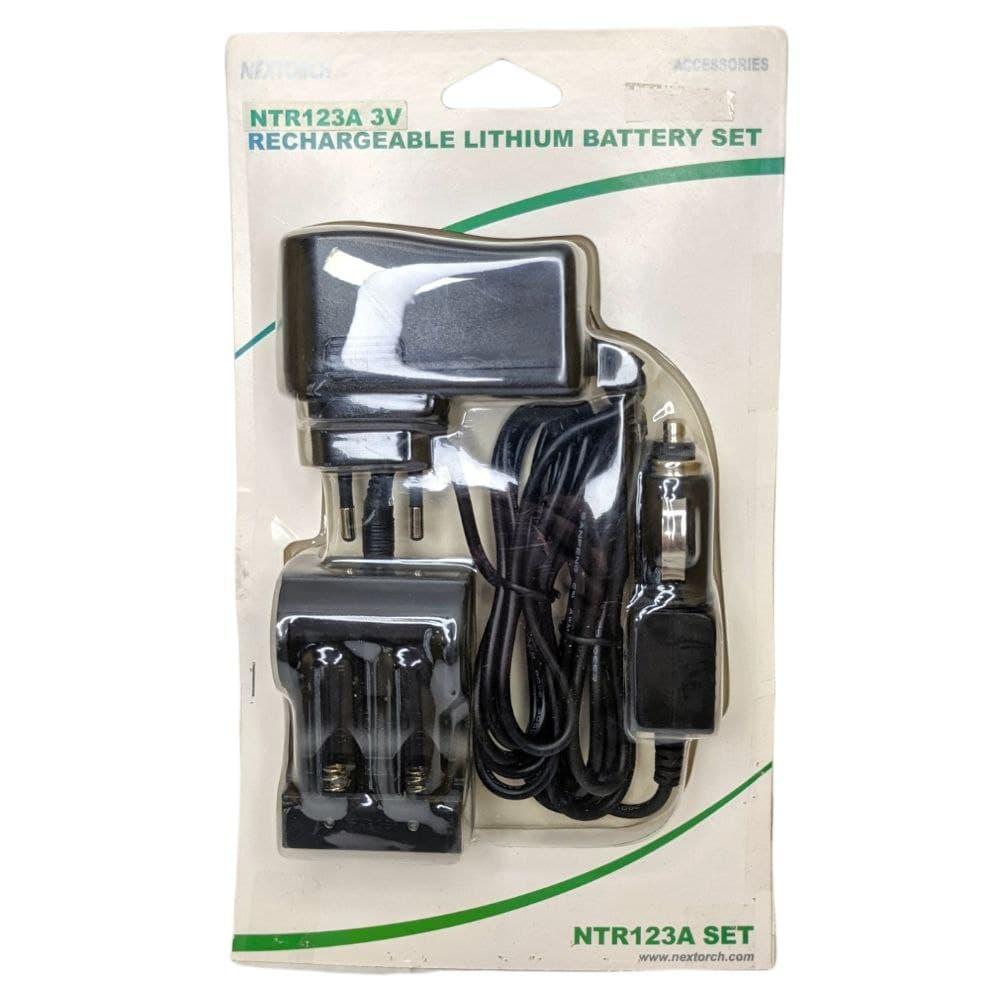 Зарядний пристрій NexTorch NTR123A / 16340