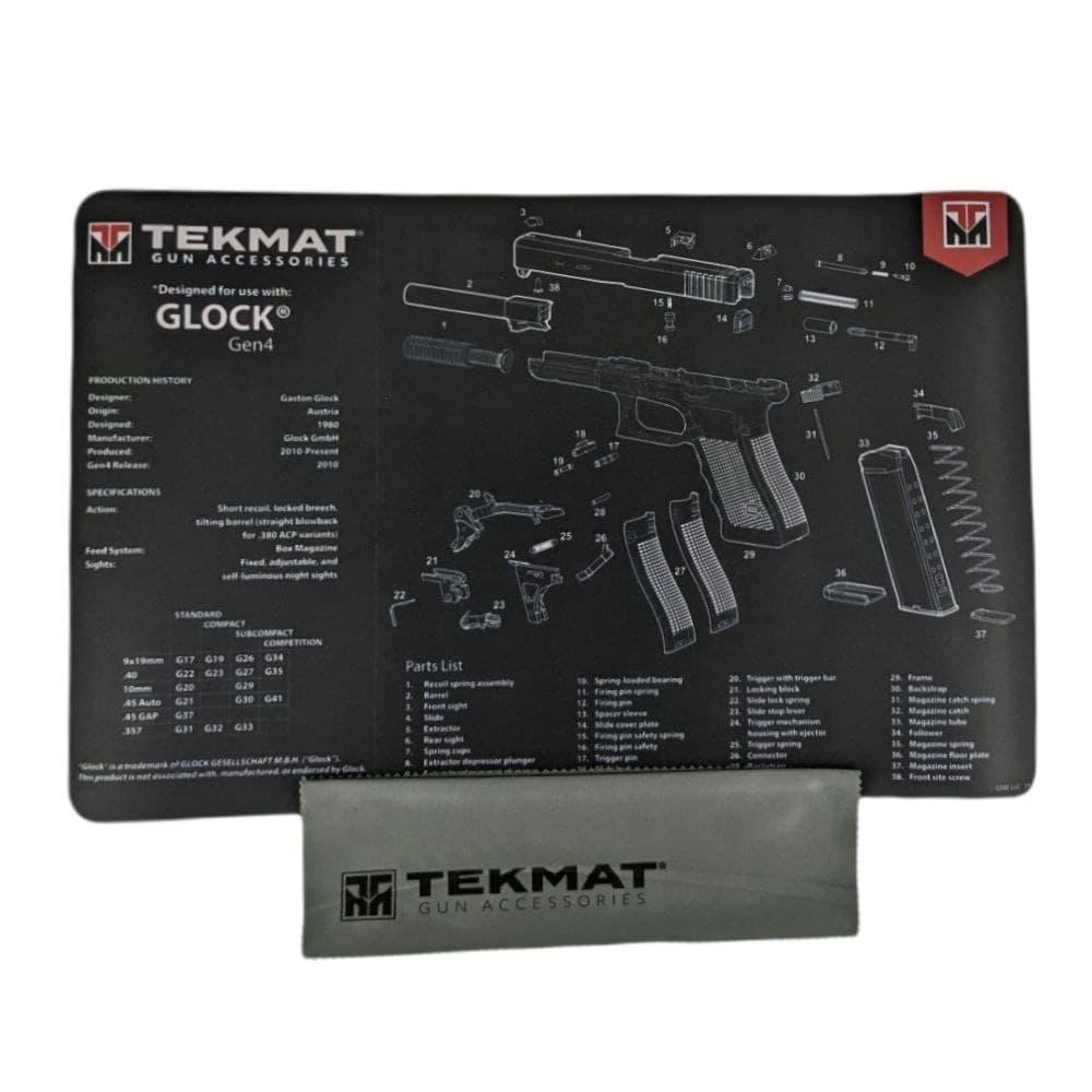 Килимок для чищення Tekmat Glock Gen4 28х43см