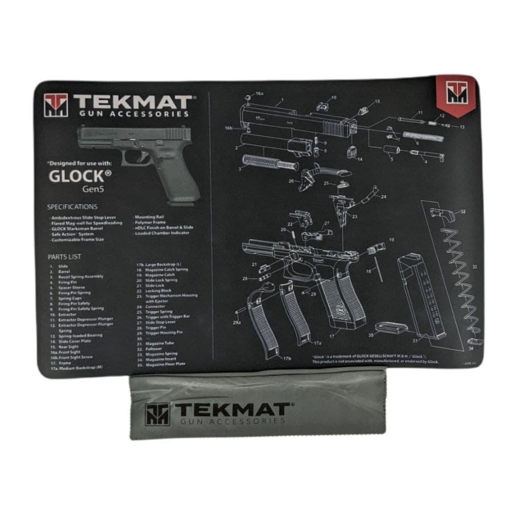 Килимок для чищення Tekmat Glock Gen5 28х43см