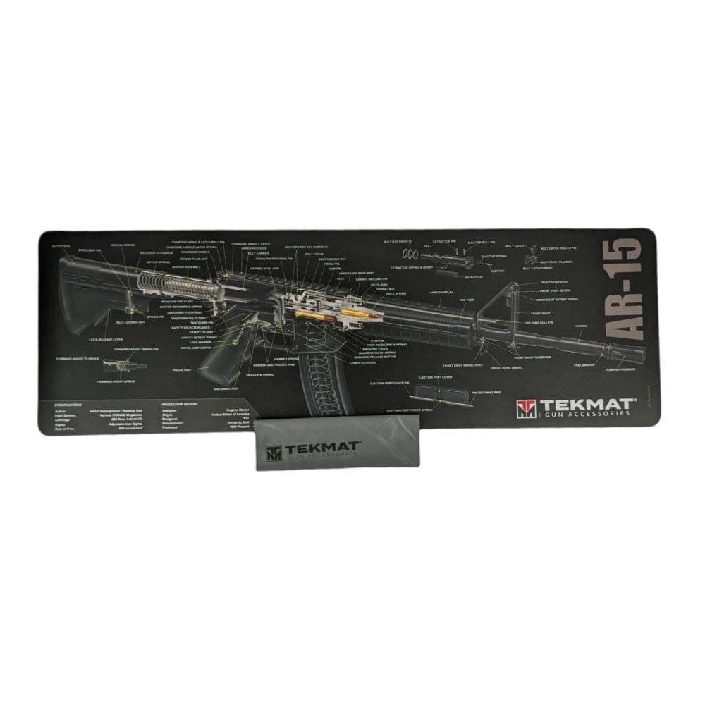 Килимок для чищення Tekmat Glock AR-15 Cut Away 31х91см
